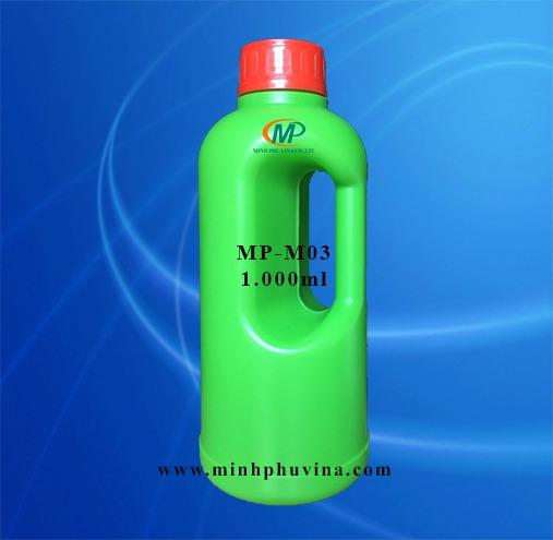 Chai nhựa nông dược 1000ml18