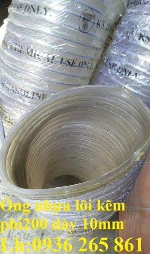 Ống nhựa lõi thép phi250 dẫn nước, dẫn xăng dầu, dẫn hóa chất lỏng, dẫn bùn lỏng hàng chính phẩm20