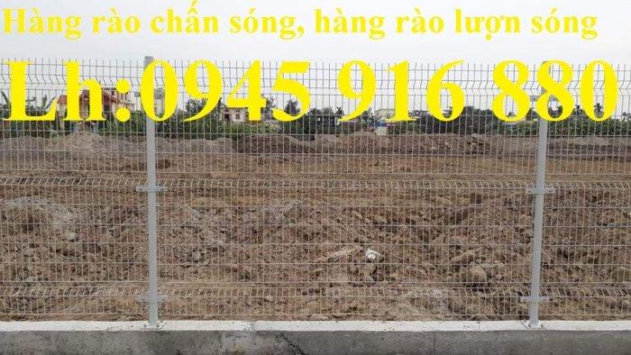 Lưới hàng rào ngăn kho nhà máy, nhà xưởng, hàng rào bảo vệ vỉa hè bền đẹp chất lượng2