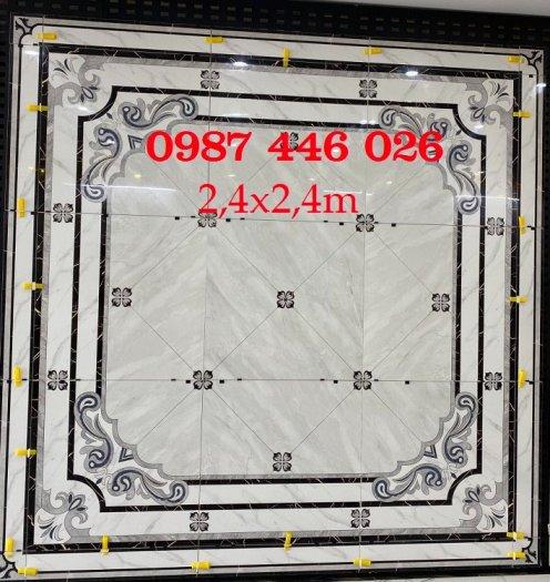 Gạch thảm sàn phòng khách khổ lớn HP1904112