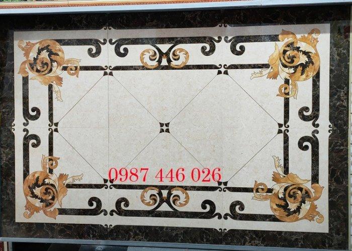Gạch thảm sàn phòng khách khổ lớn HP190418