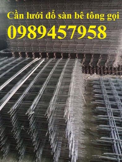 Sản xuất lưới thép hàn phi 8 ô 150x150, 200x200 ,Lưới D8 gân 200*2006