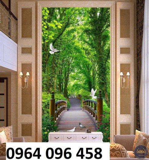 Tranh gạch 3d phòng khách - gạch tranh 3d phòng khách - FL438
