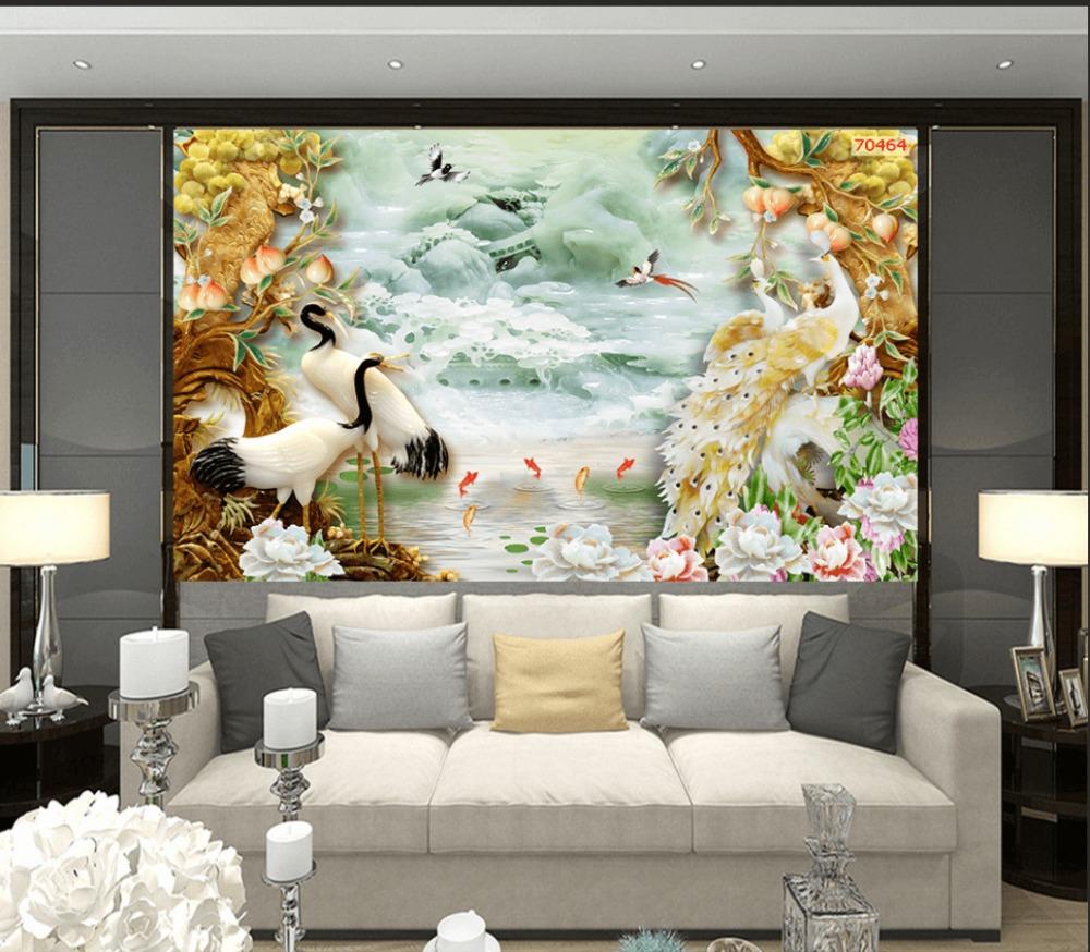 Gạch 3d tranh sứ ngọc - FL870