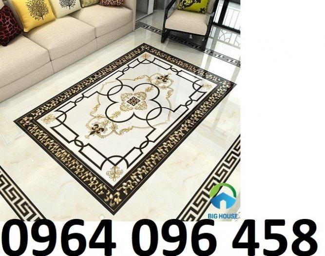 Gạch thảm 3d cao cấp lát phòng khách - KC231