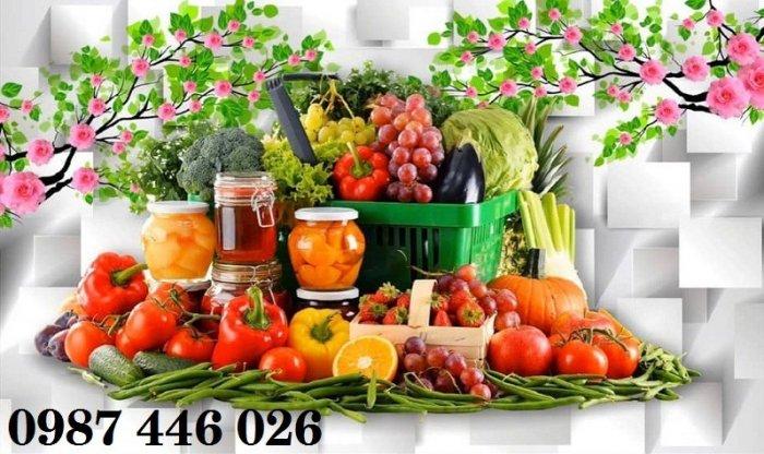 Tranh gạch hoa quả ốp bếp Hp720215