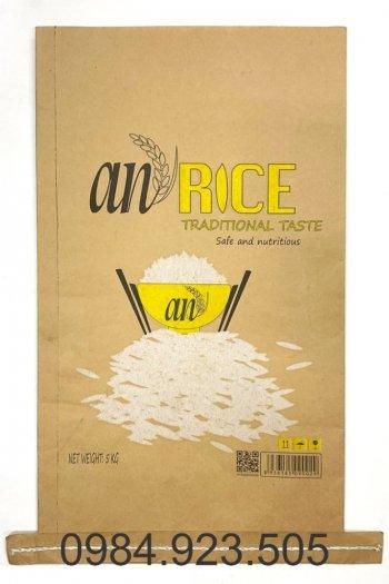 Bao bì giấy kraft đựng gạo3