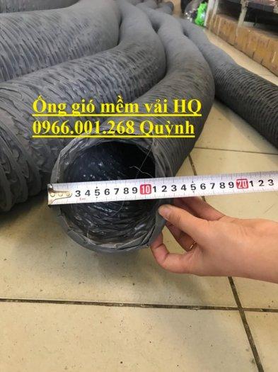 Phân phối ống gió mềm vải Hàn Quốc , Ống thông gió chịu nhiệt phi 100,phi 200,phi 3004