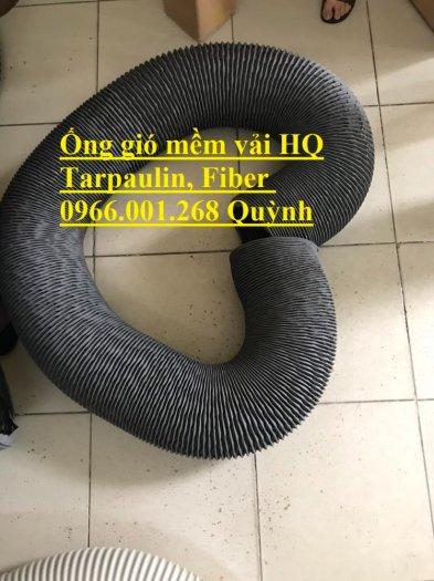 Phân phối ống gió mềm vải Hàn Quốc , Ống thông gió chịu nhiệt phi 100,phi 200,phi 3001