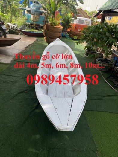Thuyền gỗ 3m trưng bày nhà hàng, cửa hàng hải sản, hàng hoa tươi(liên hệ báo giá)2
