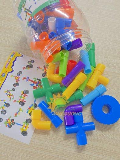 Đồ chơi lắp ghép thông minh nhiều chi tiết dành cho trẻ em vui chơi, vận động19