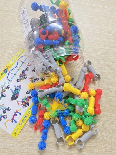 Đồ chơi lắp ghép thông minh nhiều chi tiết dành cho trẻ em vui chơi, vận động17