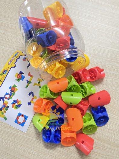 Đồ chơi lắp ghép thông minh nhiều chi tiết dành cho trẻ em vui chơi, vận động16