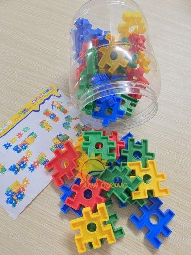 Đồ chơi lắp ghép thông minh nhiều chi tiết dành cho trẻ em vui chơi, vận động12