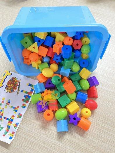Đồ chơi lắp ghép thông minh nhiều chi tiết dành cho trẻ em vui chơi, vận động10
