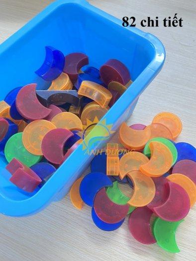 Đồ chơi lắp ghép thông minh nhiều chi tiết dành cho trẻ em vui chơi, vận động6