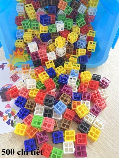 Đồ chơi lắp ghép thông minh nhiều chi tiết dành cho trẻ em vui chơi, vận động5