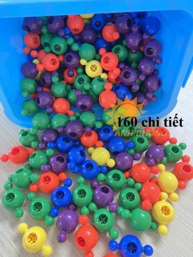 Đồ chơi lắp ghép thông minh nhiều chi tiết dành cho trẻ em vui chơi, vận động4