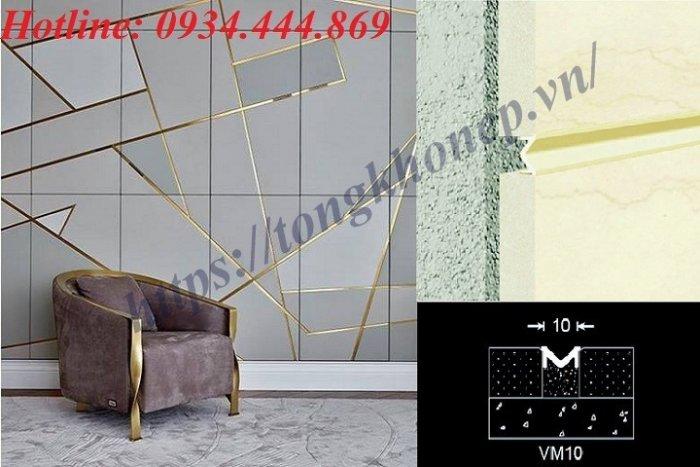 Nẹp Nhôm trang trí VM101
