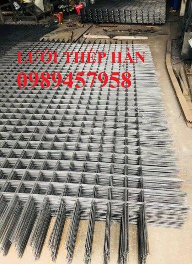 Nhà sản xuất Lưới thép hàn chập phi 6 ô 200x200, D6 200*200, A6 200*2000