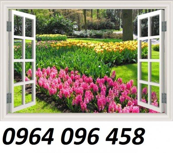 Tranh gạch 3d cửa sổ - XNN68
