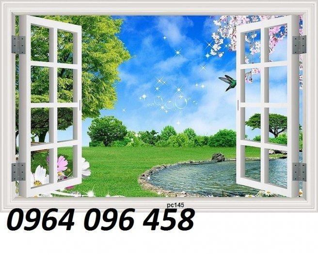 Tranh gạch 3d cửa sổ - XNN60