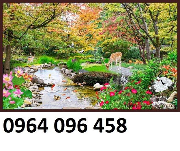 Tranh gạch 3d tranh phong cảnh - KD548