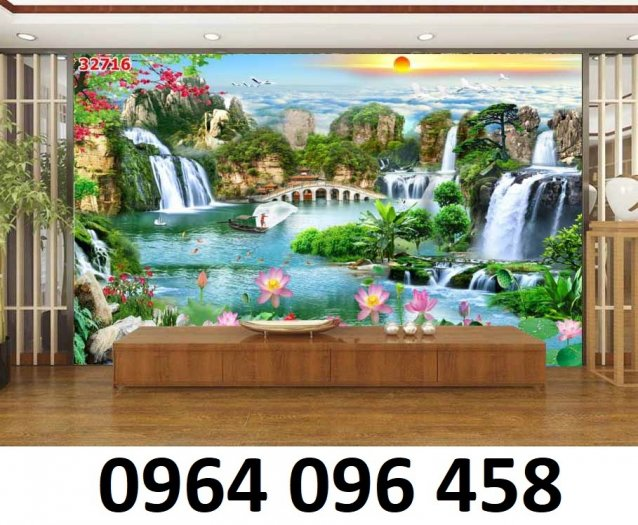 Tranh gạch 3d tranh phong cảnh - KD544