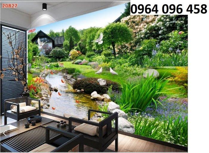 Tranh gạch 3d tranh phong cảnh - KD543