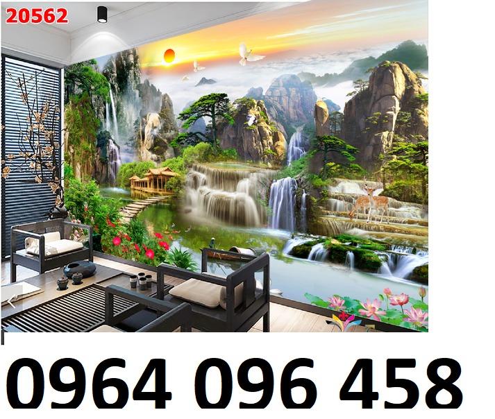 Tranh gạch 3d tranh phong cảnh - KD541