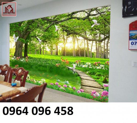 Tranh gạch 3d tranh phong cảnh - KD540