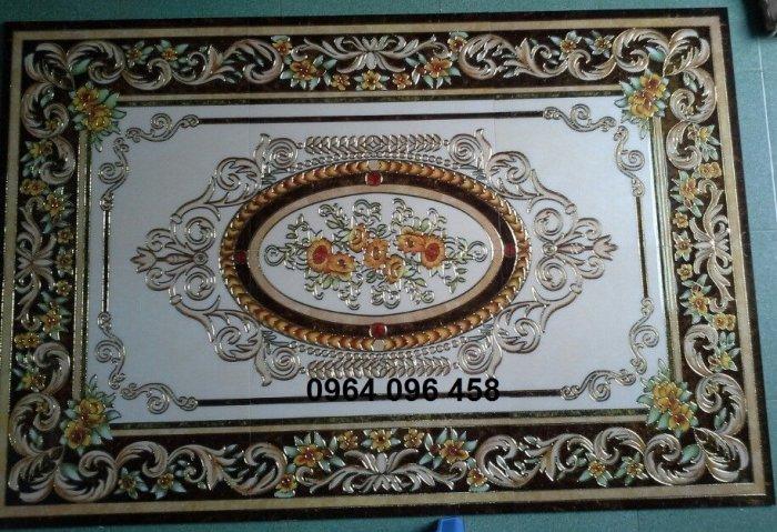 Gạch thảm - thảm gạch phòng khách - KD437