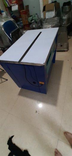 Máy đóng đai thùng carton máy quấn dây đai xung quanh thùng bán tự động1