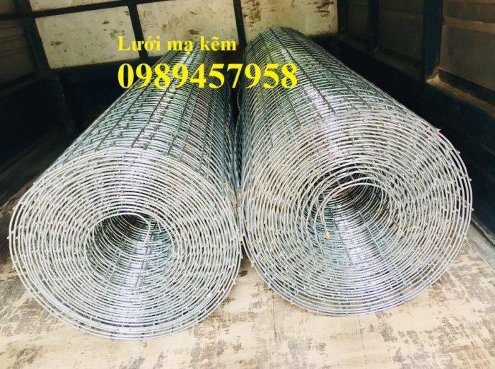 Lưới thép hàn mạ kẽm trang trí, Lưới thép phi 3 ô 25x25, 50x50, 100x100 khổ 1,5m4