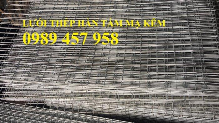 Lưới thép hàn mạ kẽm trang trí, Lưới thép phi 3 ô 25x25, 50x50, 100x100 khổ 1,5m1