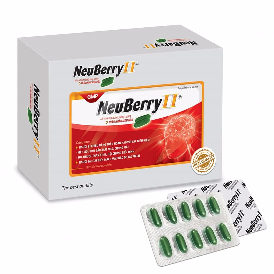 Hoạt huyết não - NEUBERRY II0