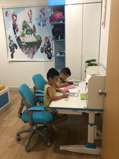 Bộ bàn học sinh thông minh chống gù chống cận6