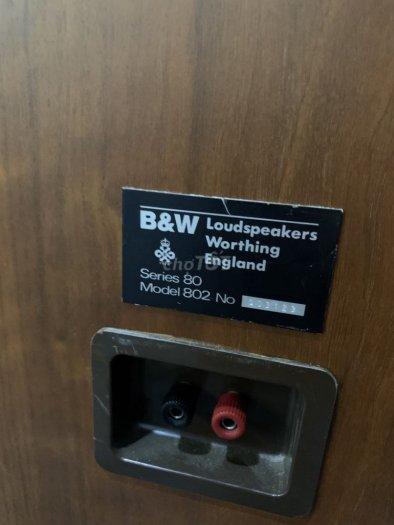 Bán chuyên loa B&W 802 (ENGLAND ) đẹp long lanh hàng bải1