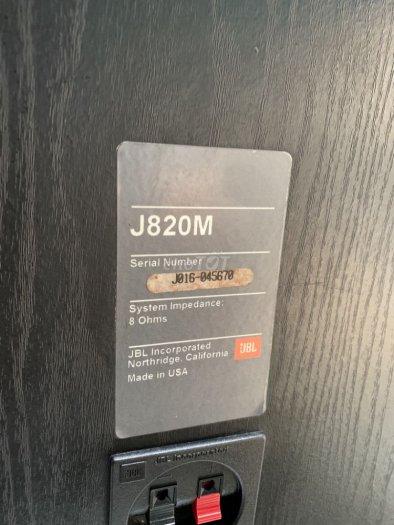 Bán chuyên Loa JBL J820M (USA) đẹp long lanh hàng bải tuyển chọn về zin 100% ,không chỉnh sửa,0