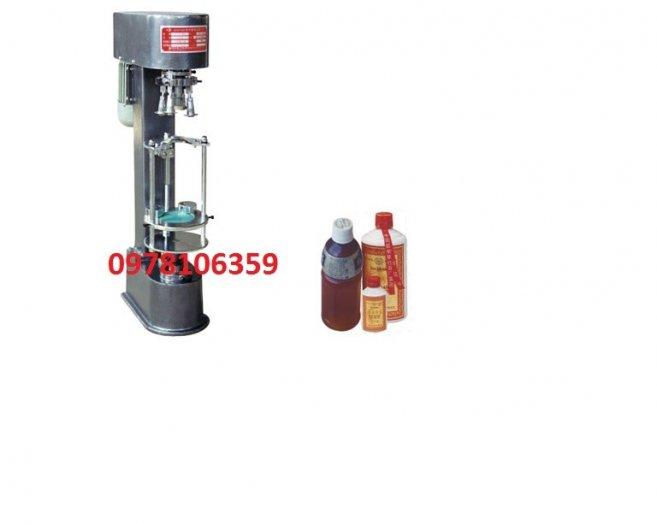 Máy siết nắp chai nhôm, máy đóng nắp chai nhựa, máy siết nắp chai rượu JGS8902