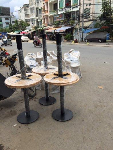 Chân bàn cafe đế mâm sắt cao cấp0