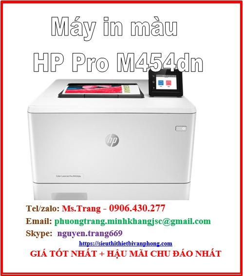Máy in màu HP Color Laserjet pro m454dn giá siêu cực tốt2
