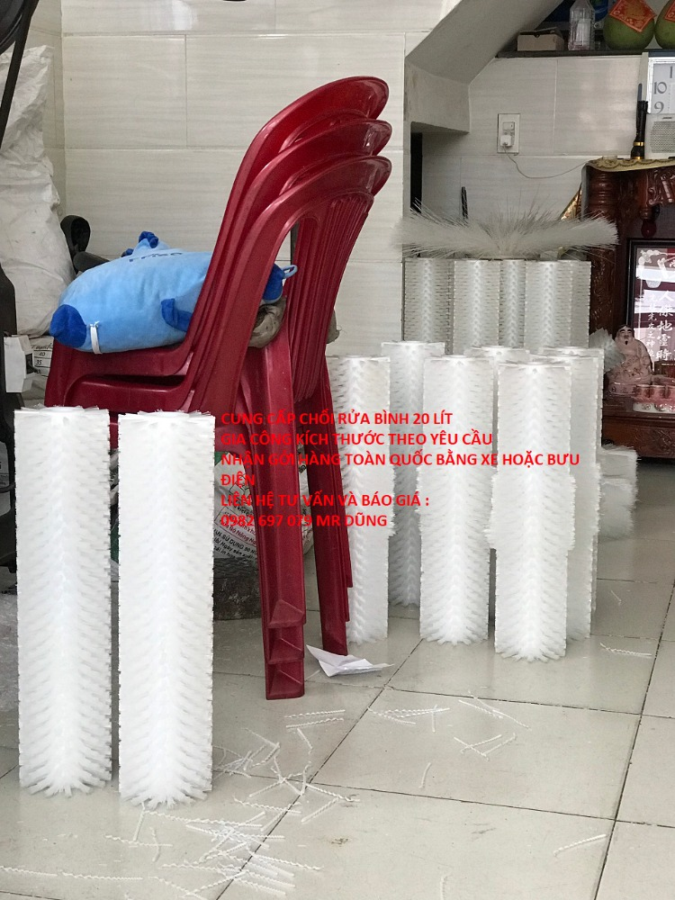 Chổi rửa bình 20 lít, bán chổi rửa bình nước tinh khiết 21 lít1