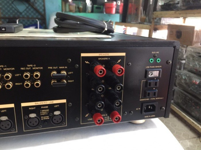 Bán chuyên ampli luxman L507S đẹp long lanh hàng bải tuyển chọn5