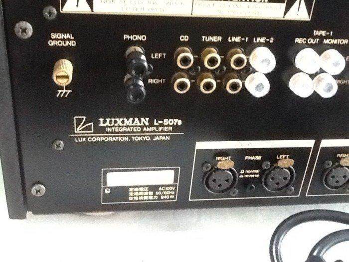 Bán chuyên ampli luxman L507S đẹp long lanh hàng bải tuyển chọn0