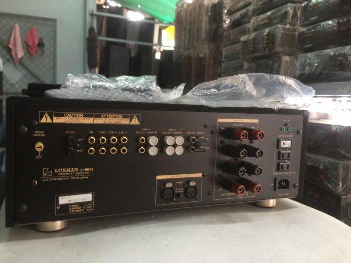Bán chuyên ampli luxman L505S hàng bải tuyển chọn4