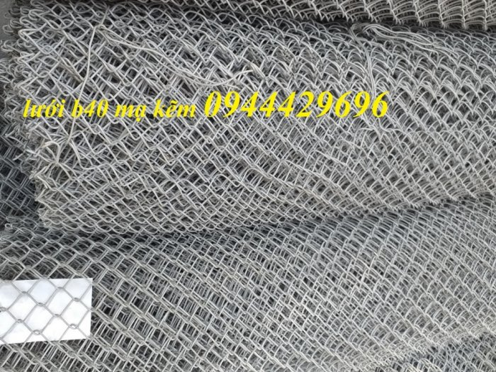 Lưới B40 khổ 1.2m mạ kẽm hàng luôn sẵn giá tốt7