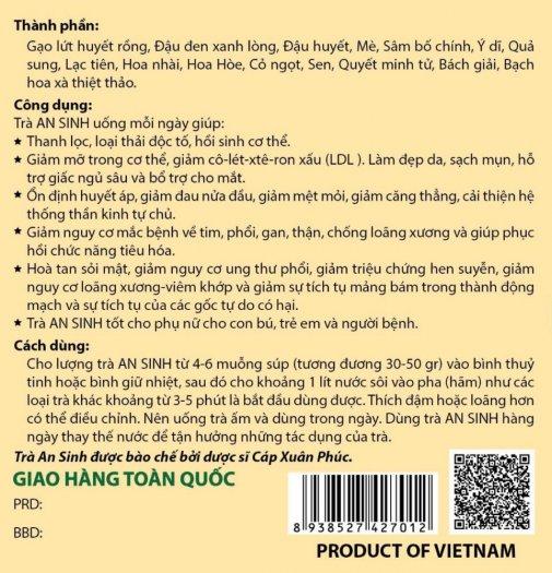 Trà An Sinh 500gram Tốt Cho Phụ Nữ2