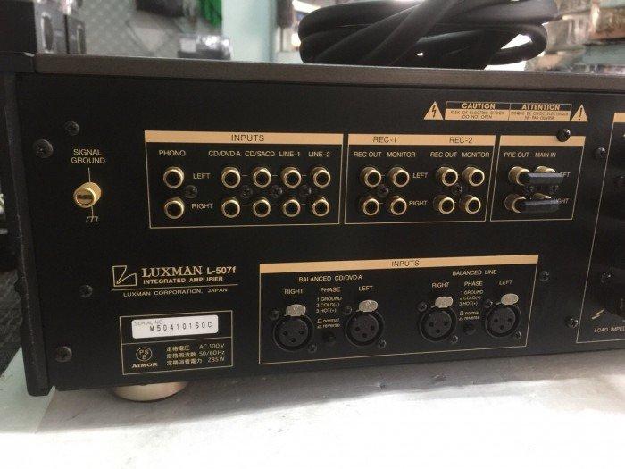 Bán chuyên ampli luxman L507F hàng bải tuyển chọn3