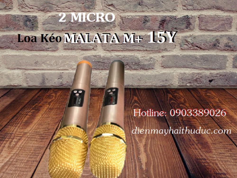 Loa kéo Malata M+ 15Y bán rẻ nhất tại Điện Máy Hải Thủ Đức1